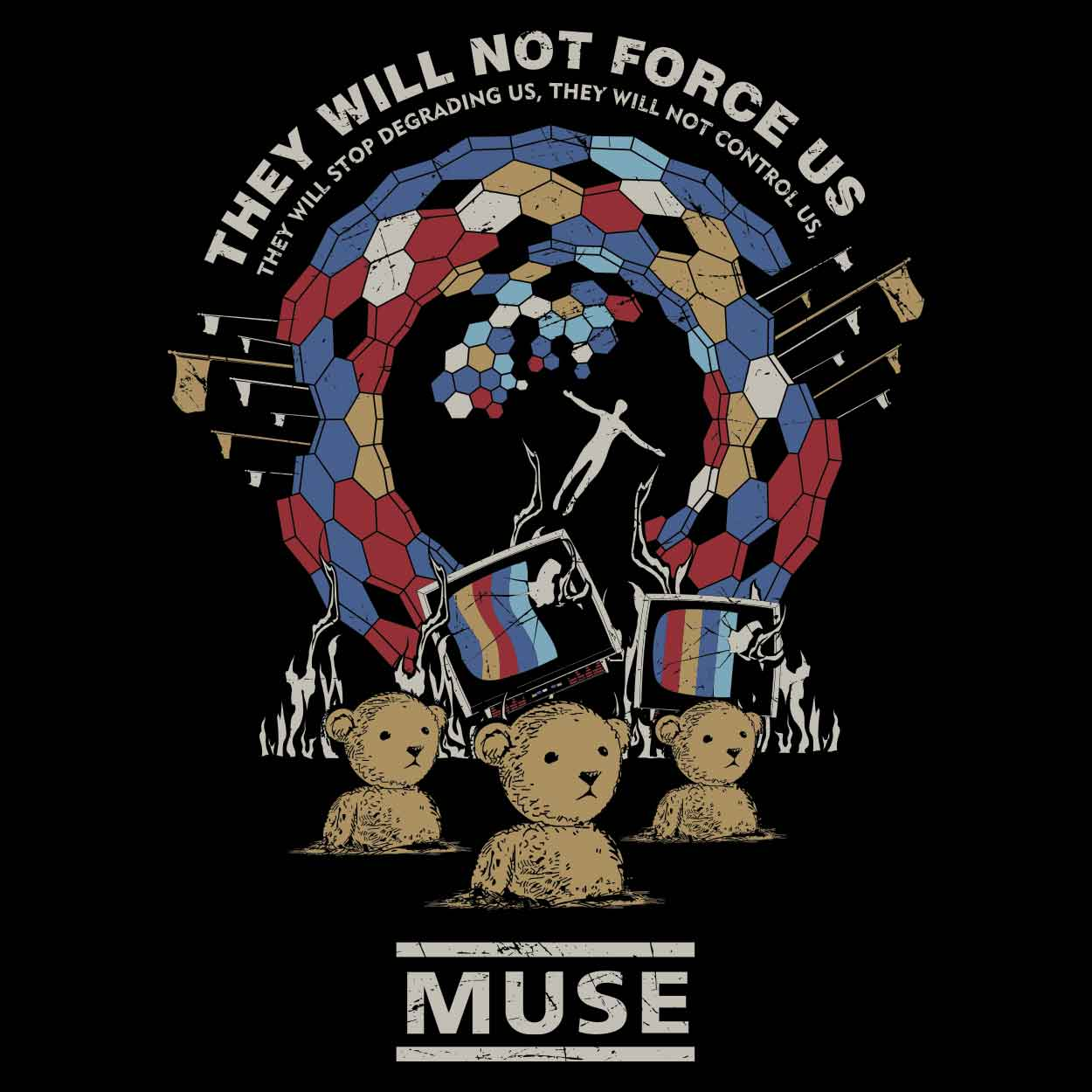 Camiseta - Muse - Uprising - Masculino