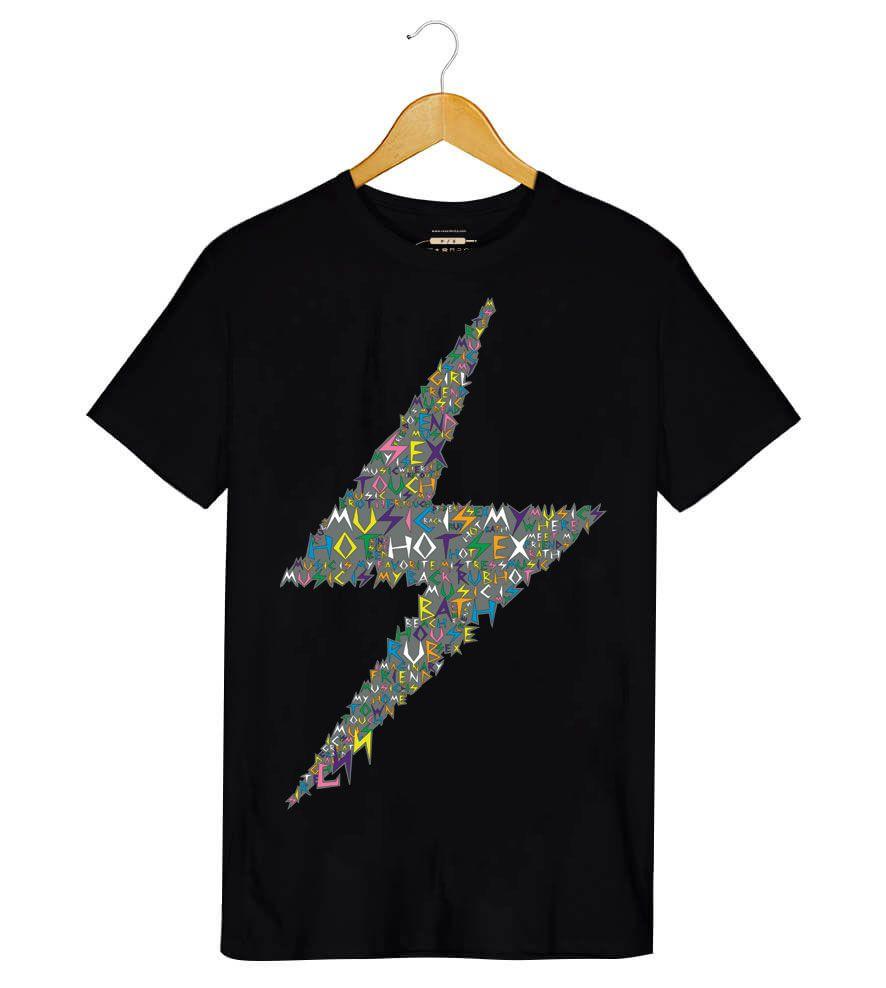 Camiseta - Music is My Hot Hot Sex - CSS - Masculino