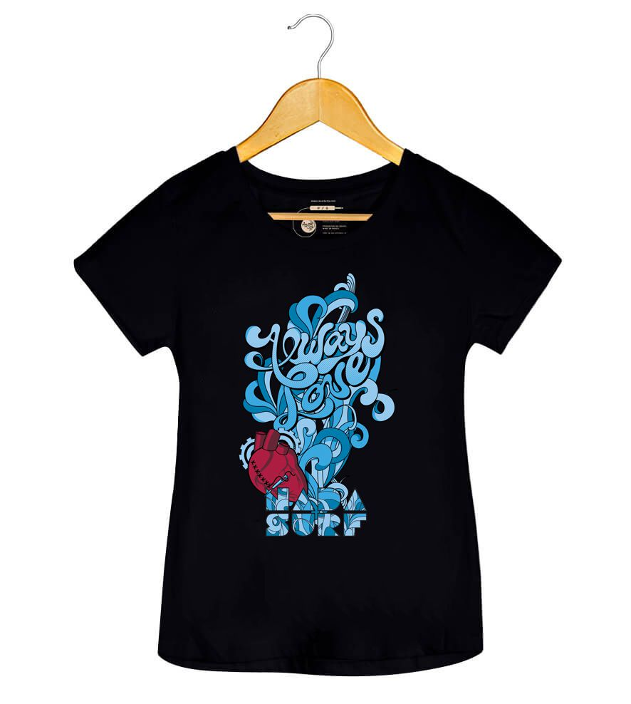 Camiseta Always Love - Nada Surf - Feminino