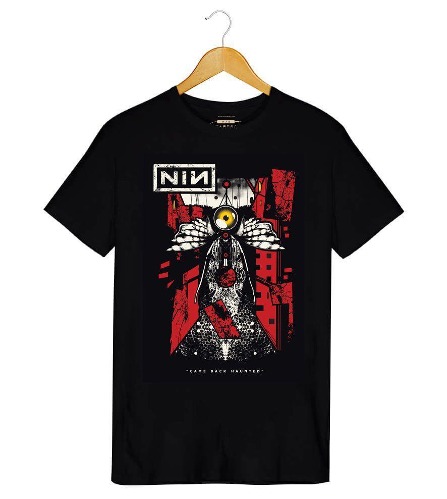 Camiseta Nine Inch Nails - Came Back Haunted - Masculino