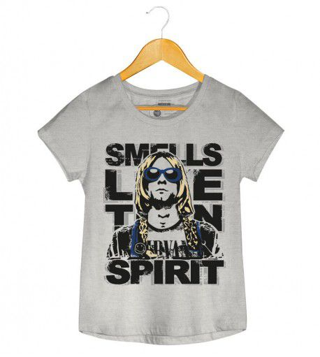 Camiseta - Nirvana - Smell Like Teen Spirit - Feminino