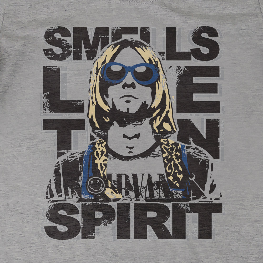 Camiseta Nirvana - Smell Like Teen Spirit - Feminino