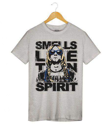 Camiseta - Nirvana - Smell Like Teen Spirit - Masculino