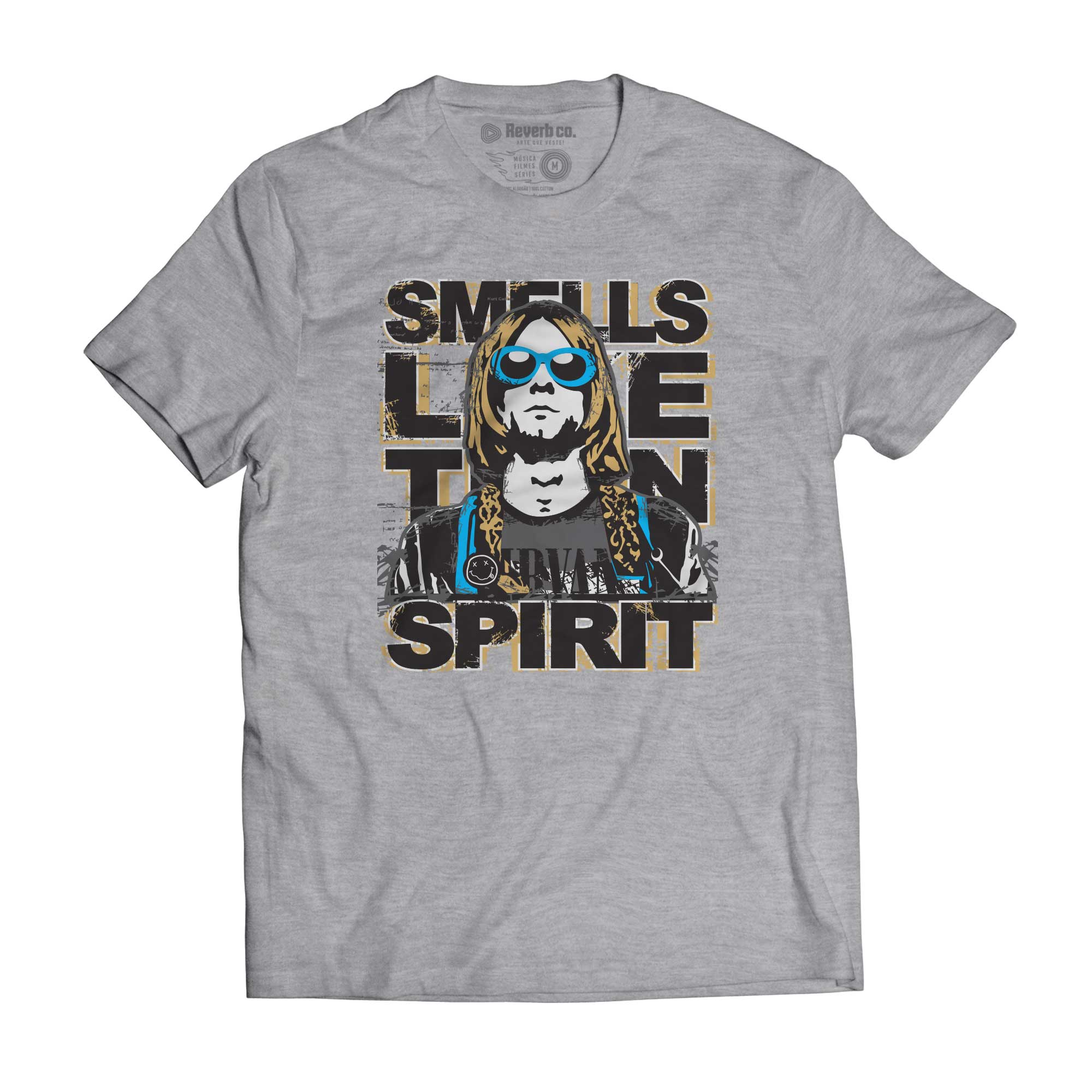 Camiseta Nirvana - Smell Like Teen Spirit - Masculino