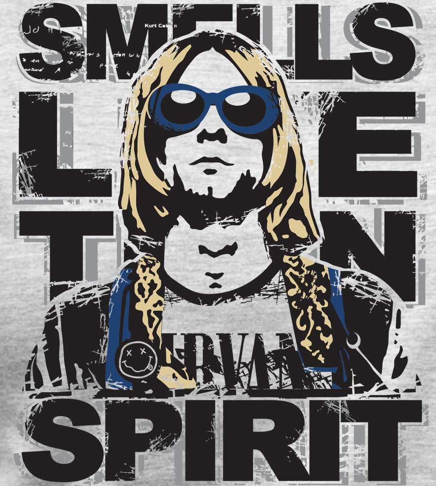 Camiseta - Nirvana - Smell Like Teen Spirit - Masculino
