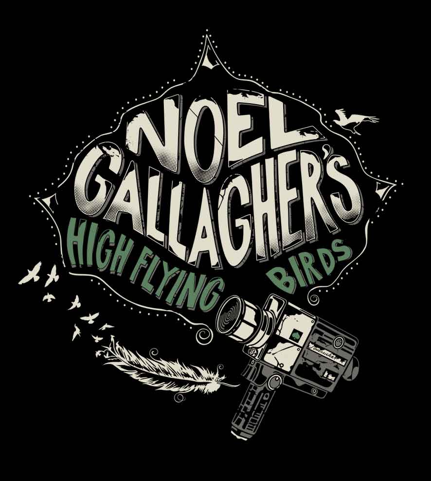 Camiseta - Noel Gallagher - High Flying Birds - Feminino