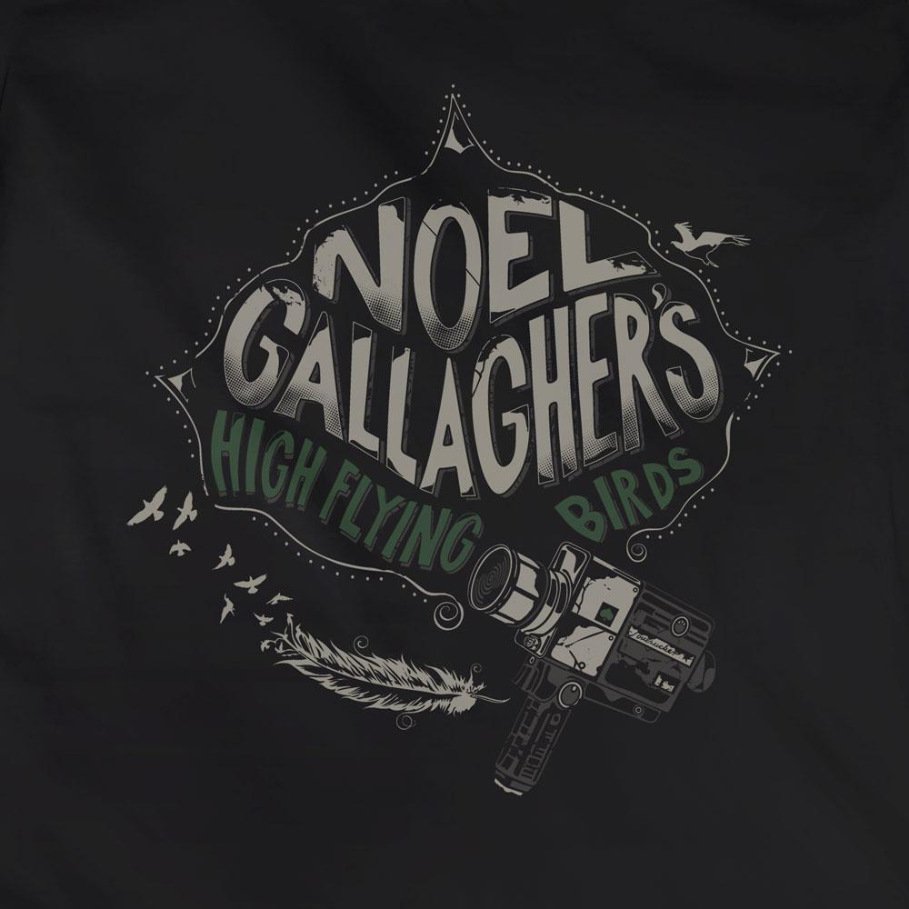 Camiseta Noel Gallagher - High Flying Birds - Feminino