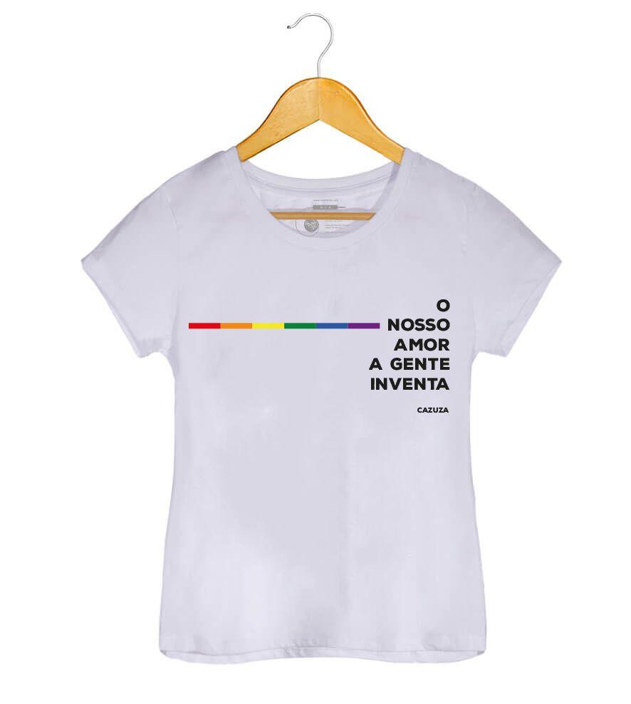 Camiseta - O Nosso Amor A Gente Inventa - Cazuza - Feminino