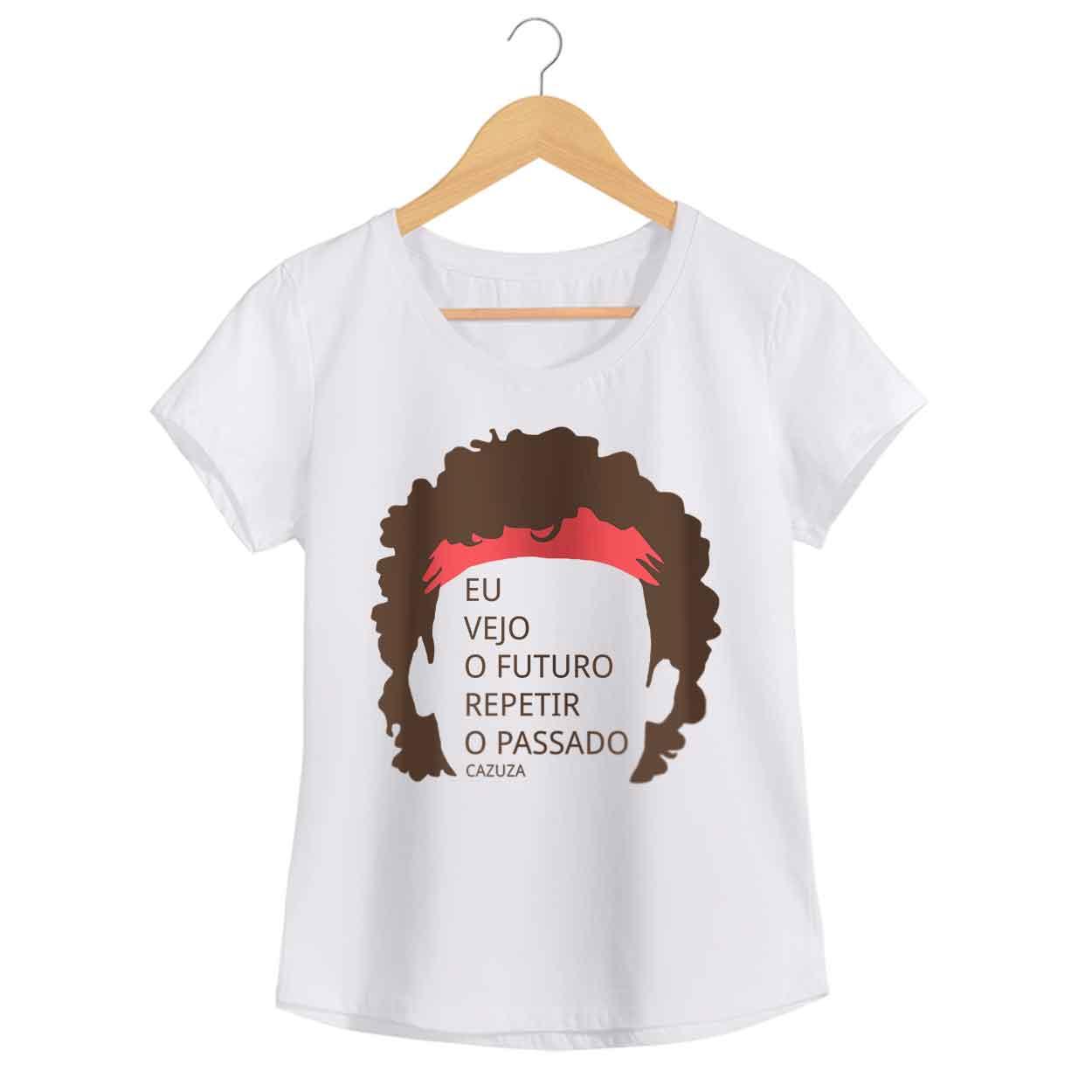 Camiseta - O Tempo Não Pára - Cazuza - Feminino
