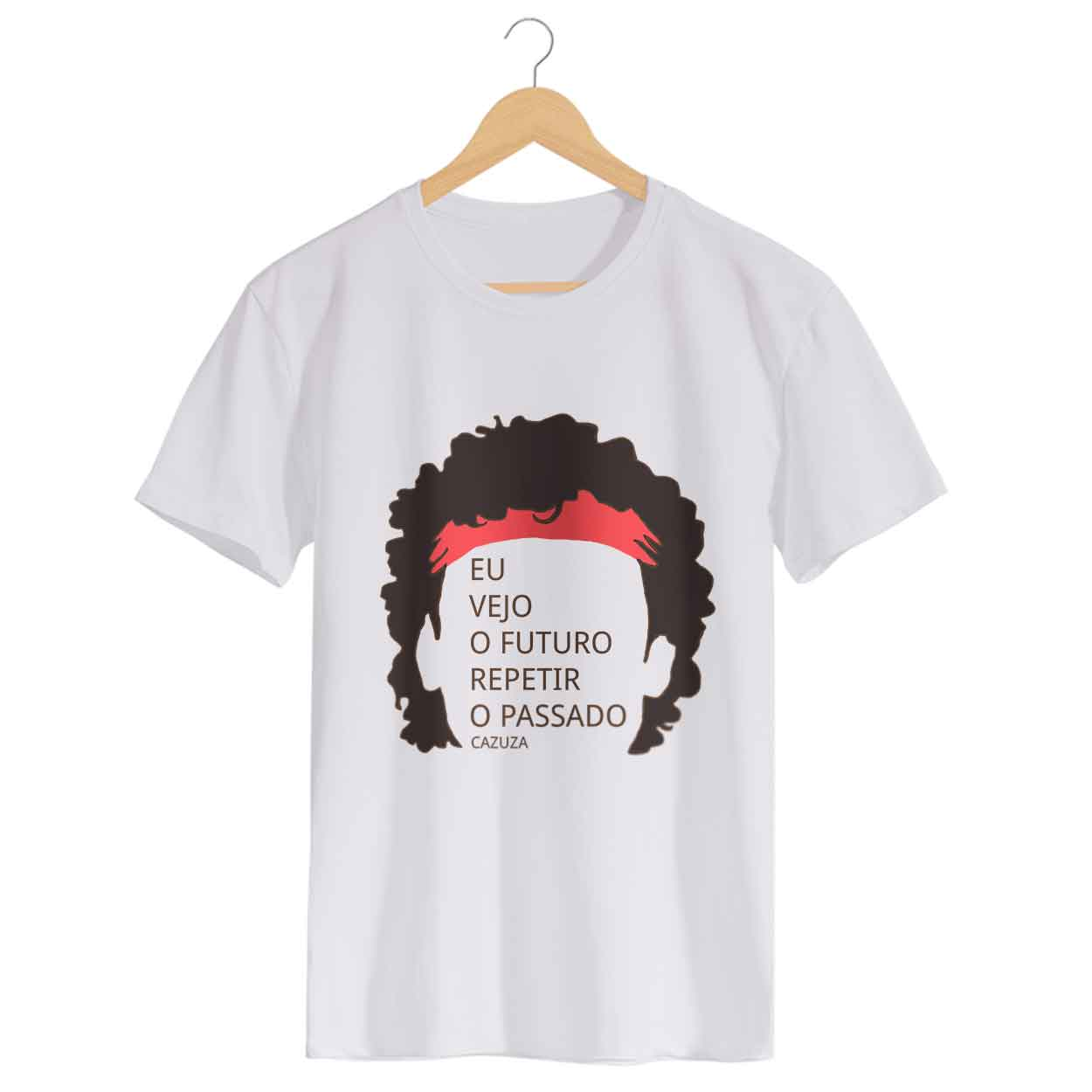 Camiseta - O Tempo Não Pára - Cazuza - Masculino