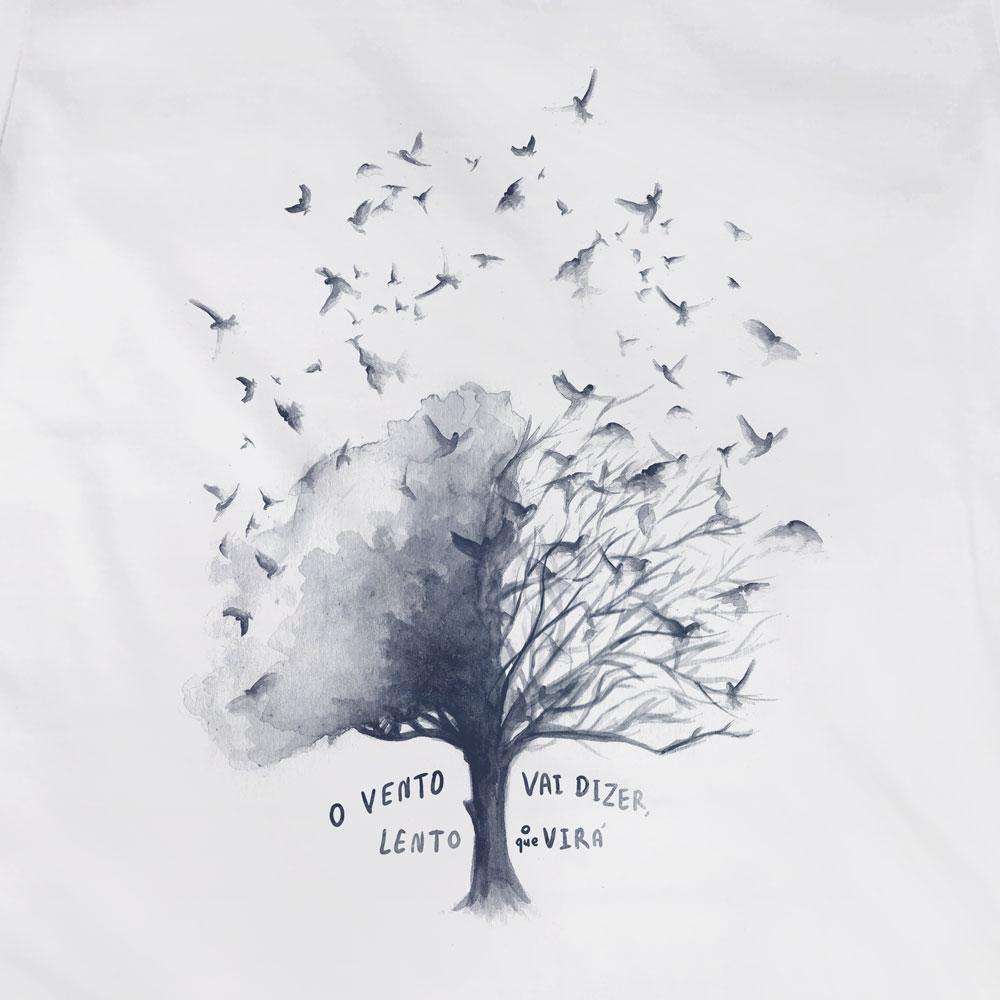 Camiseta O Vento - Los Hermanos - Feminino