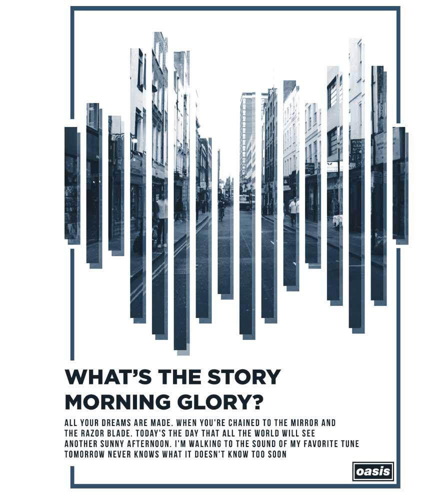 Camiseta Oasis - (Whats The Story) Morning Glory? - Feminino