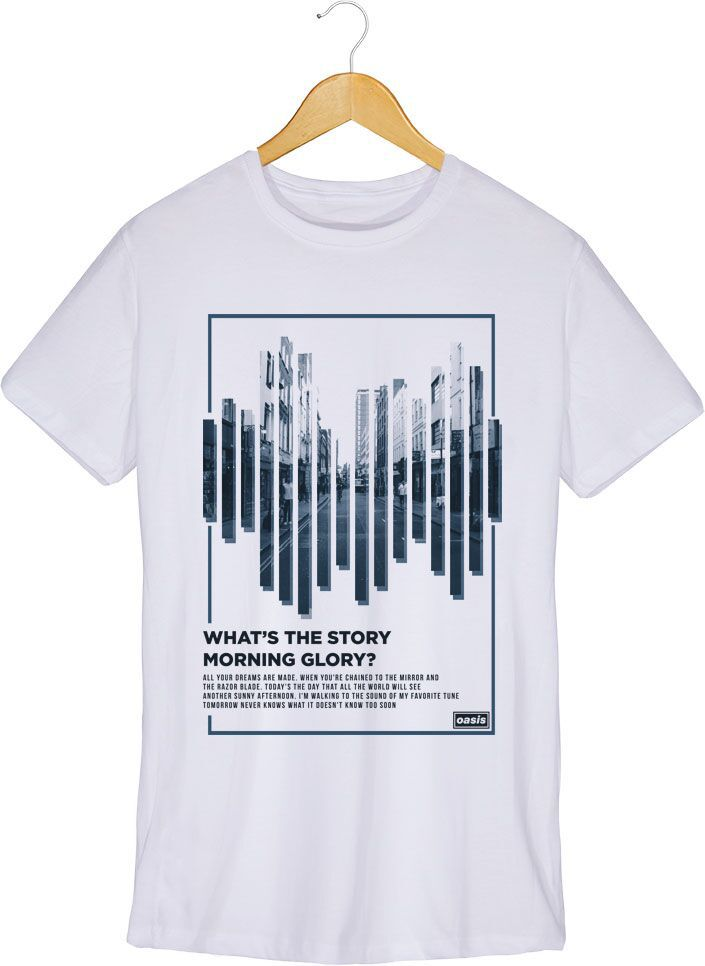 Camiseta Oasis - (Whats The Story) Morning Glory? - Masculino