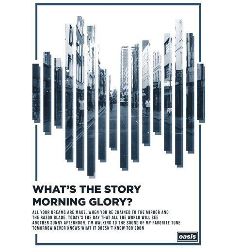 Camiseta - Oasis - (Whats The Story) Morning Glory? - Masculino