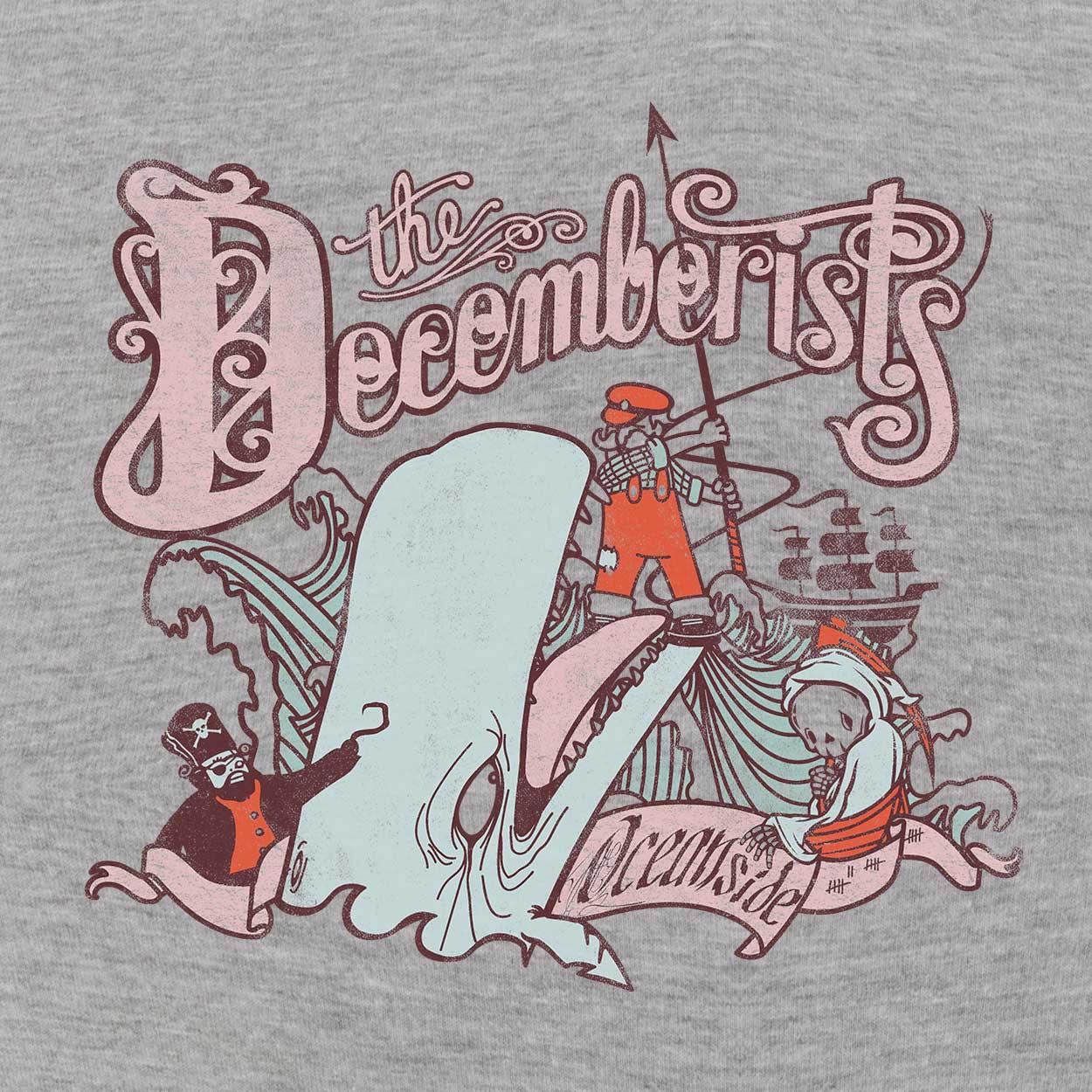 Camiseta Oceanside - The Decemberists - Masculino