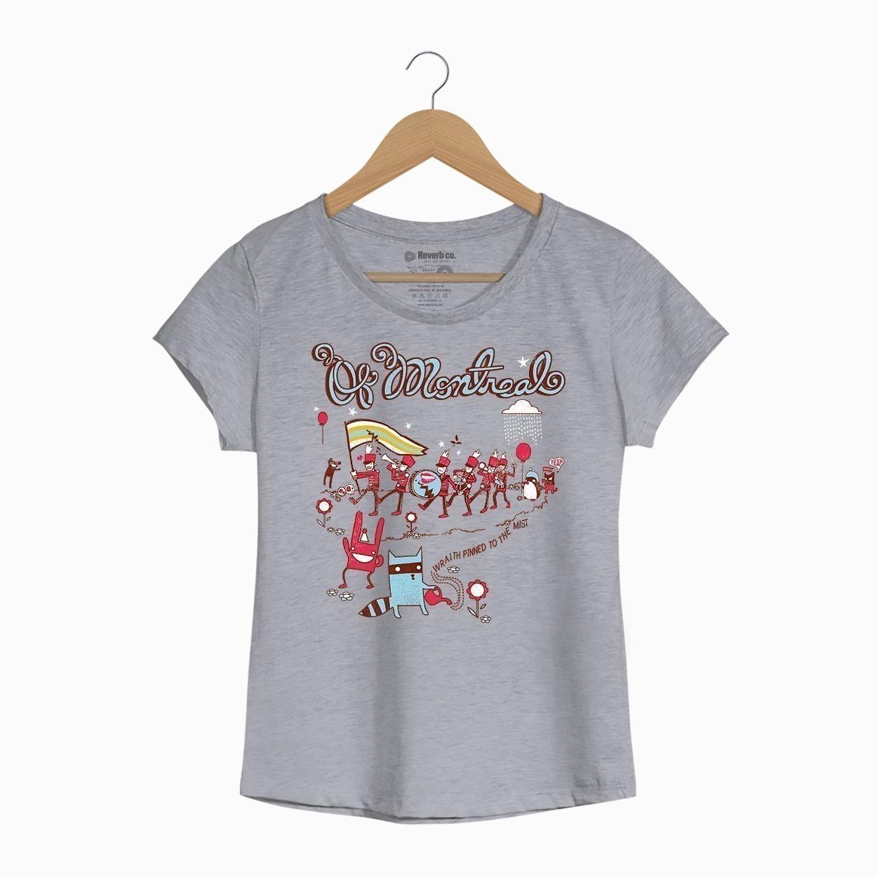 Camiseta Of Montreal - Feminino