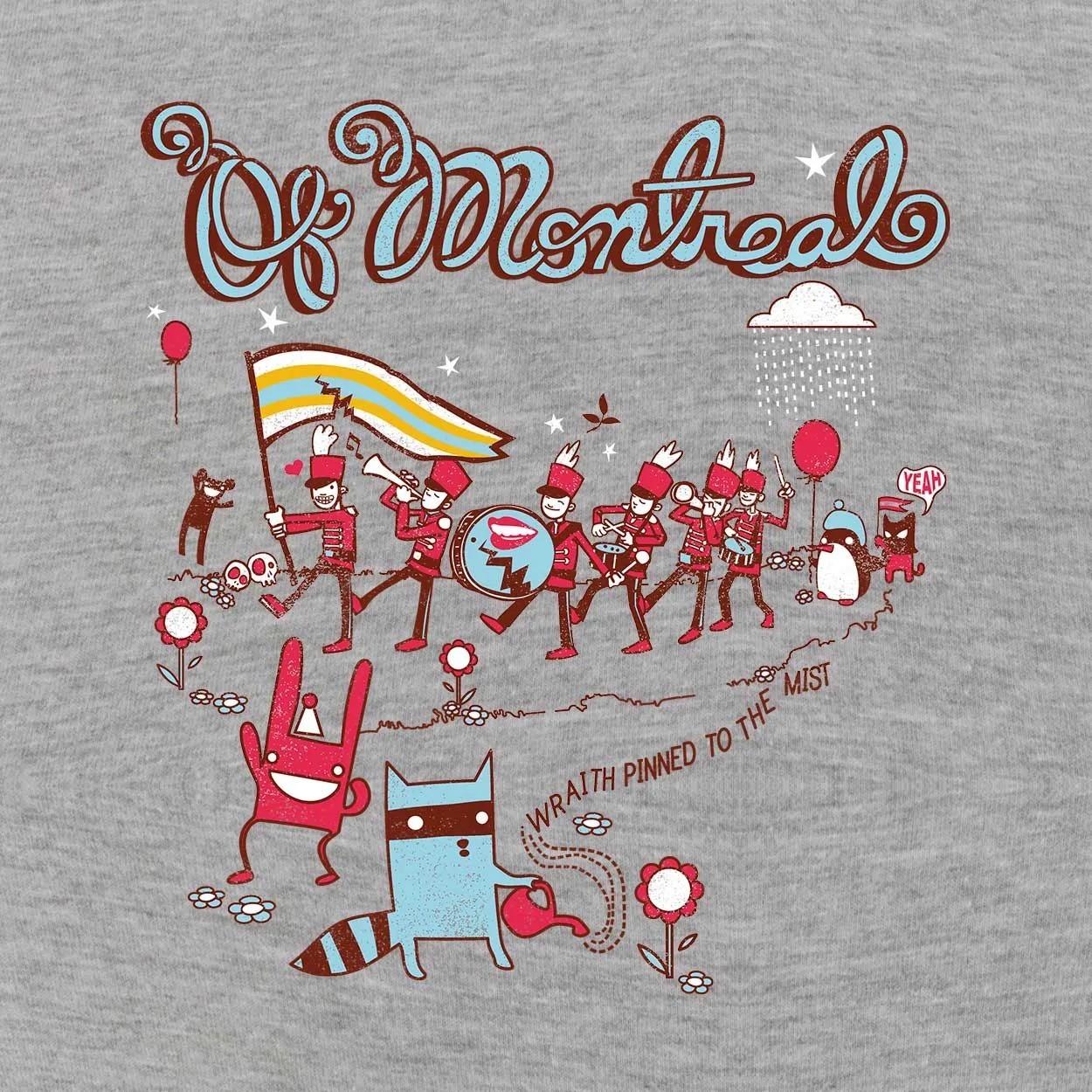 Camiseta Of Montreal - Masculino