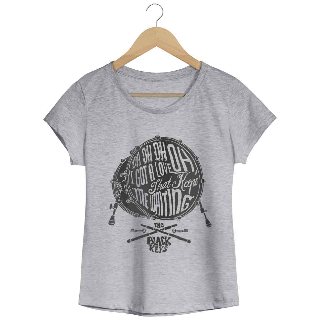 Camiseta - Oh Oh Oh I Got Love - The Black Keys - Feminino
