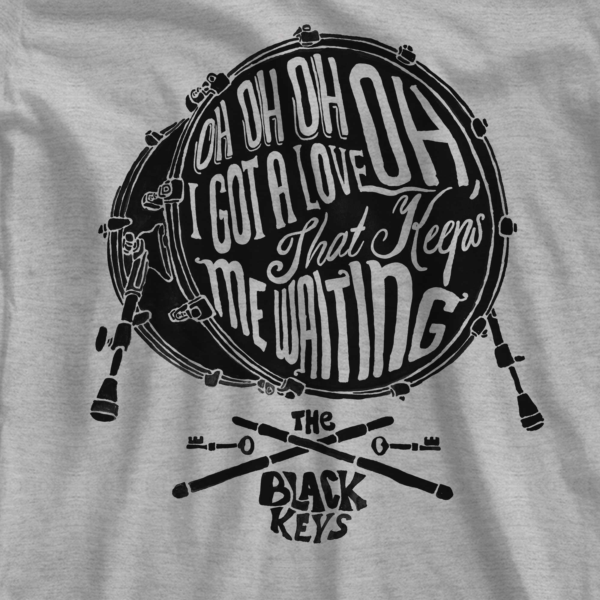 Camiseta Oh Oh Oh I Got Love - The Black Keys - Feminino