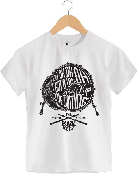 Camiseta - Oh Oh Oh I Got Love - The Black Keys - Infantil