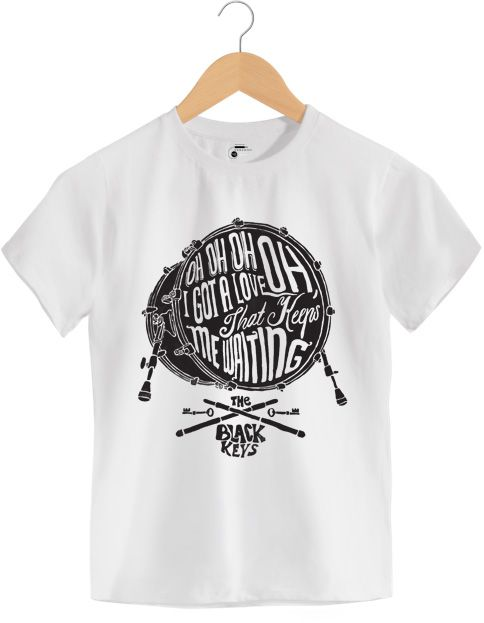 Camiseta Oh Oh Oh I Got Love - The Black Keys - Infantil
