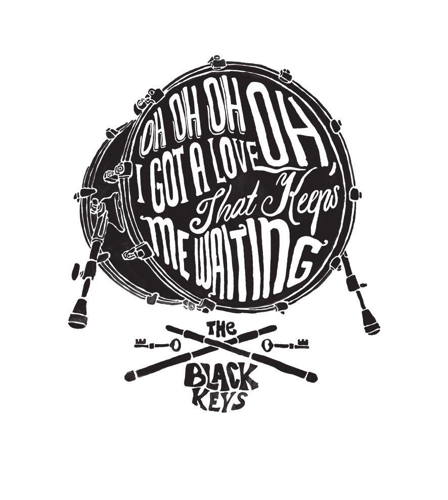 Camiseta Oh Oh Oh I Got Love - The Black Keys - Infantil