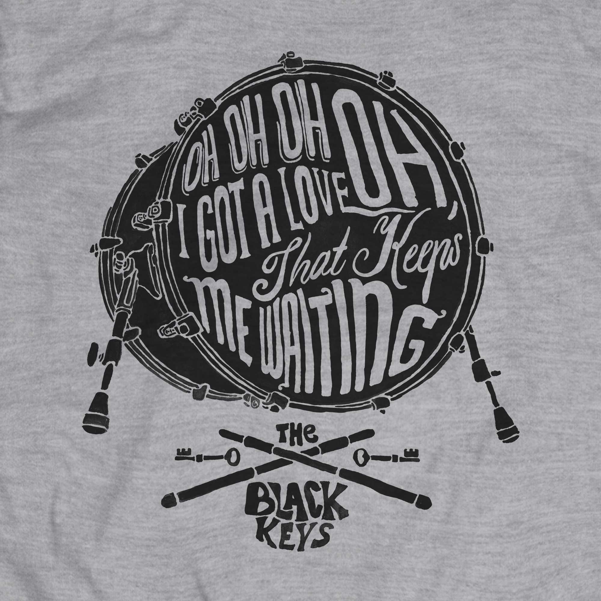 Camiseta Oh Oh Oh I Got Love - The Black Keys - Masculino