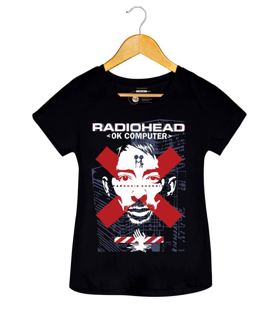 Camiseta - Ok Computer - Radiohead- Feminino