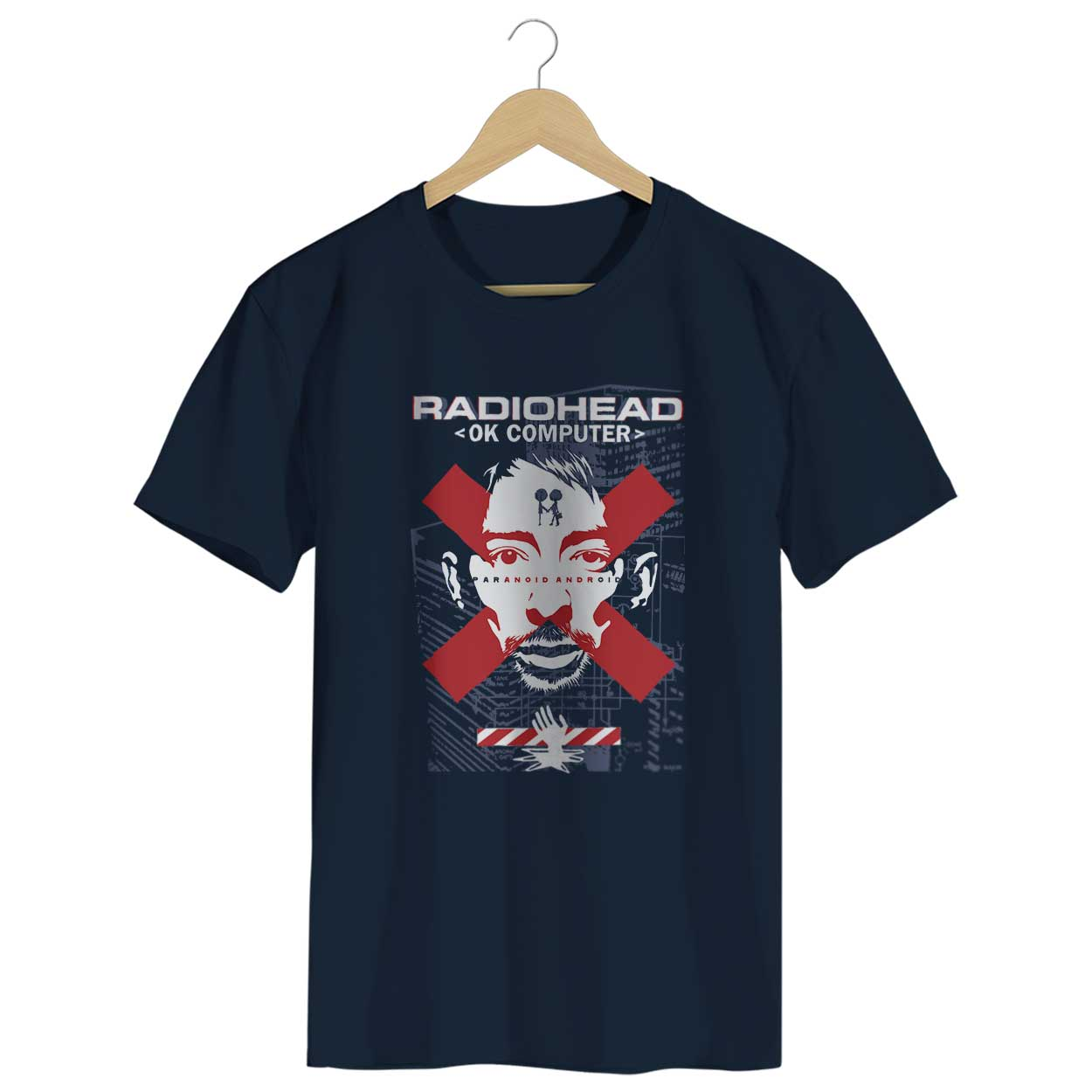 Camiseta - Ok Computer - Radiohead- Masculino