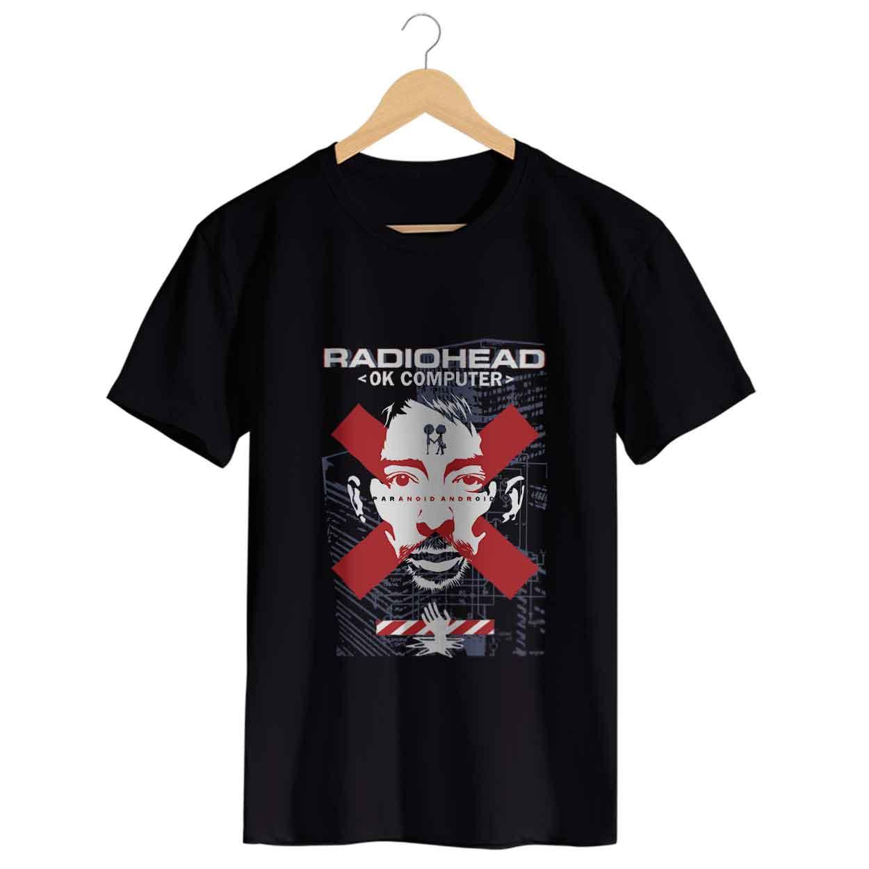 Camiseta Ok Computer - Radiohead- Masculino