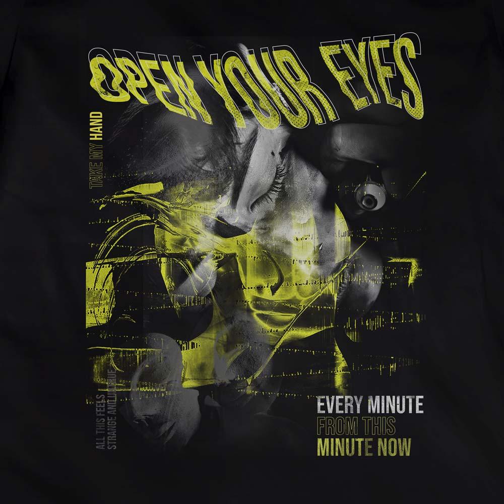 Camiseta Open Your Eyes - Feminino