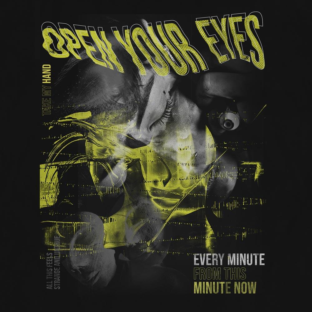 Camiseta Open Your Eyes - Masculino