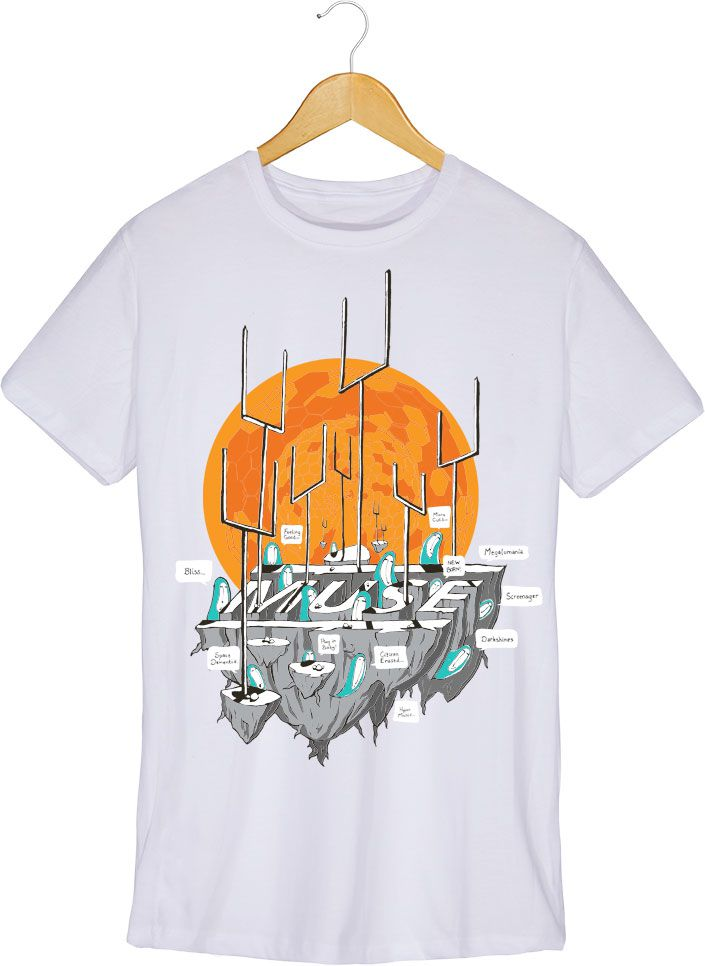 Camiseta - Origin Of Symmetry - Muse - Masculino