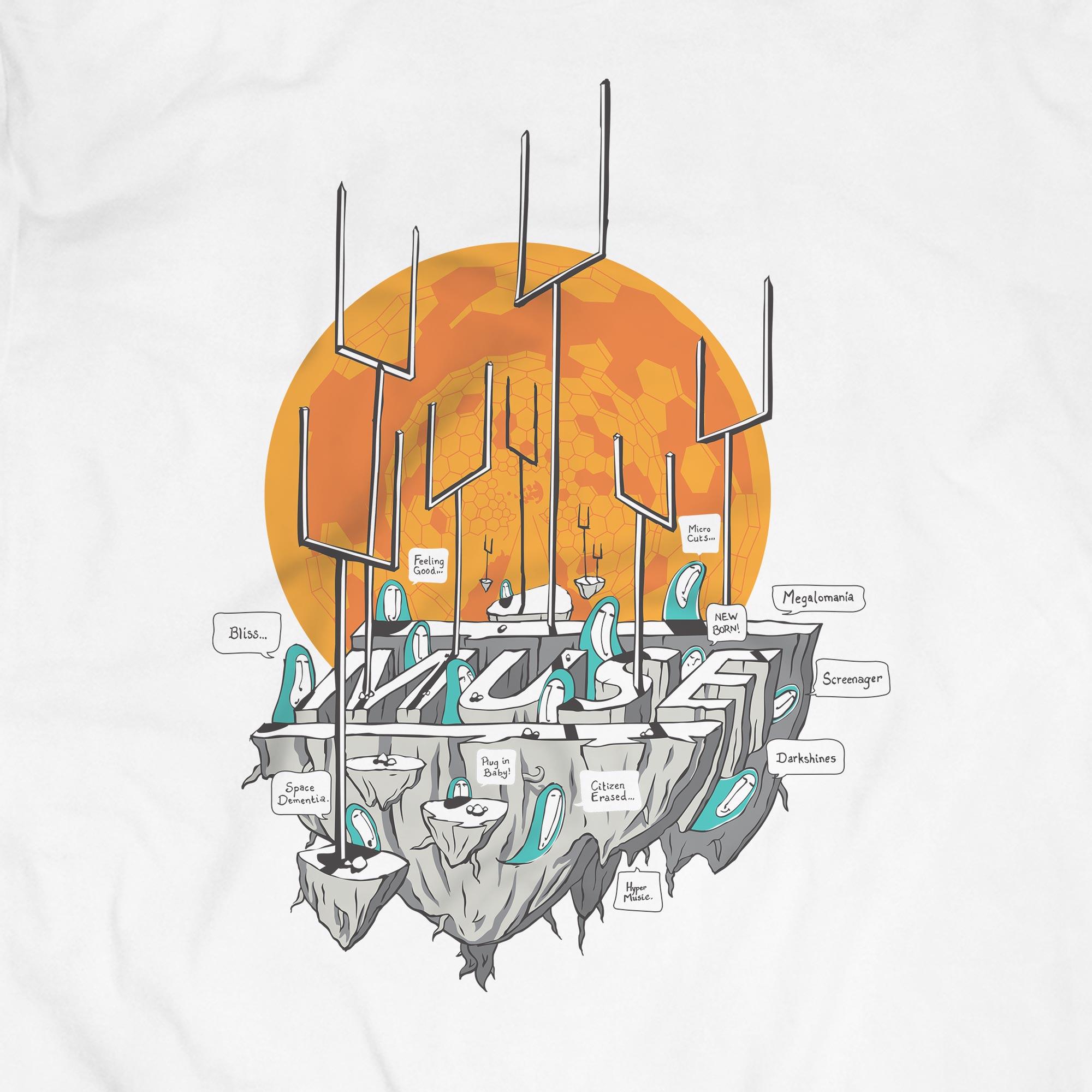 Camiseta Origin Of Symmetry - Muse - Masculino
