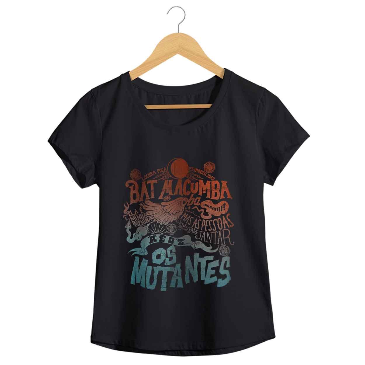 Camiseta Os Mutantes - Feminino