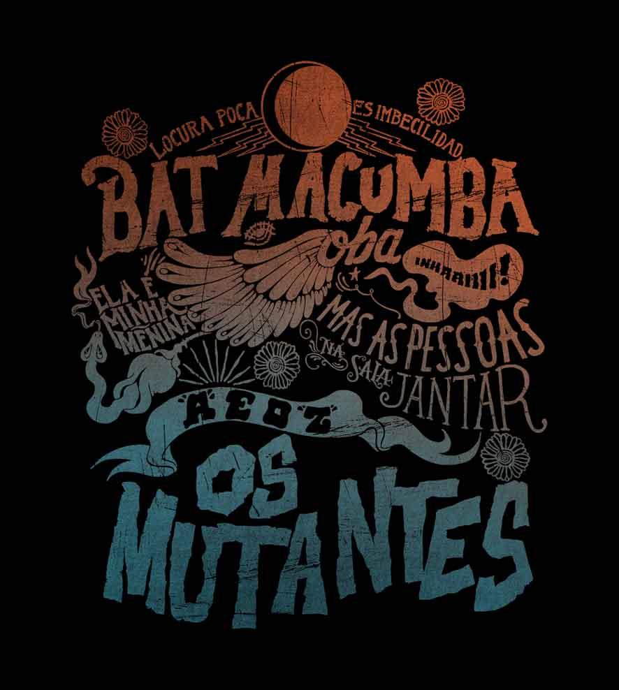 Camiseta - Os Mutantes - Feminino