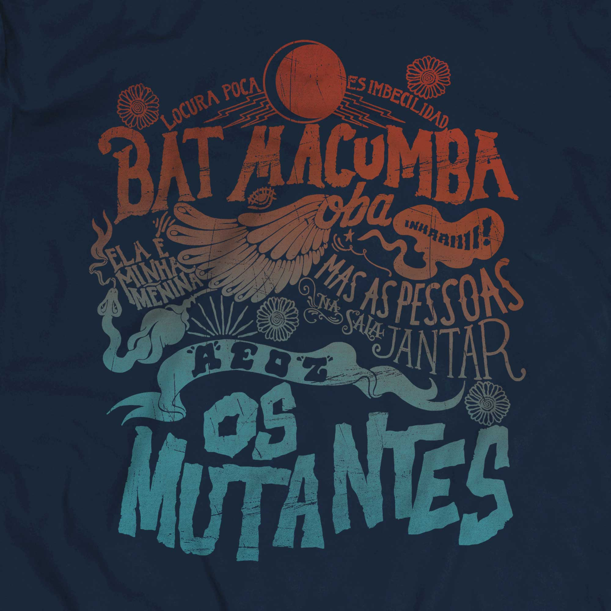 Camiseta Os Mutantes - Masculino