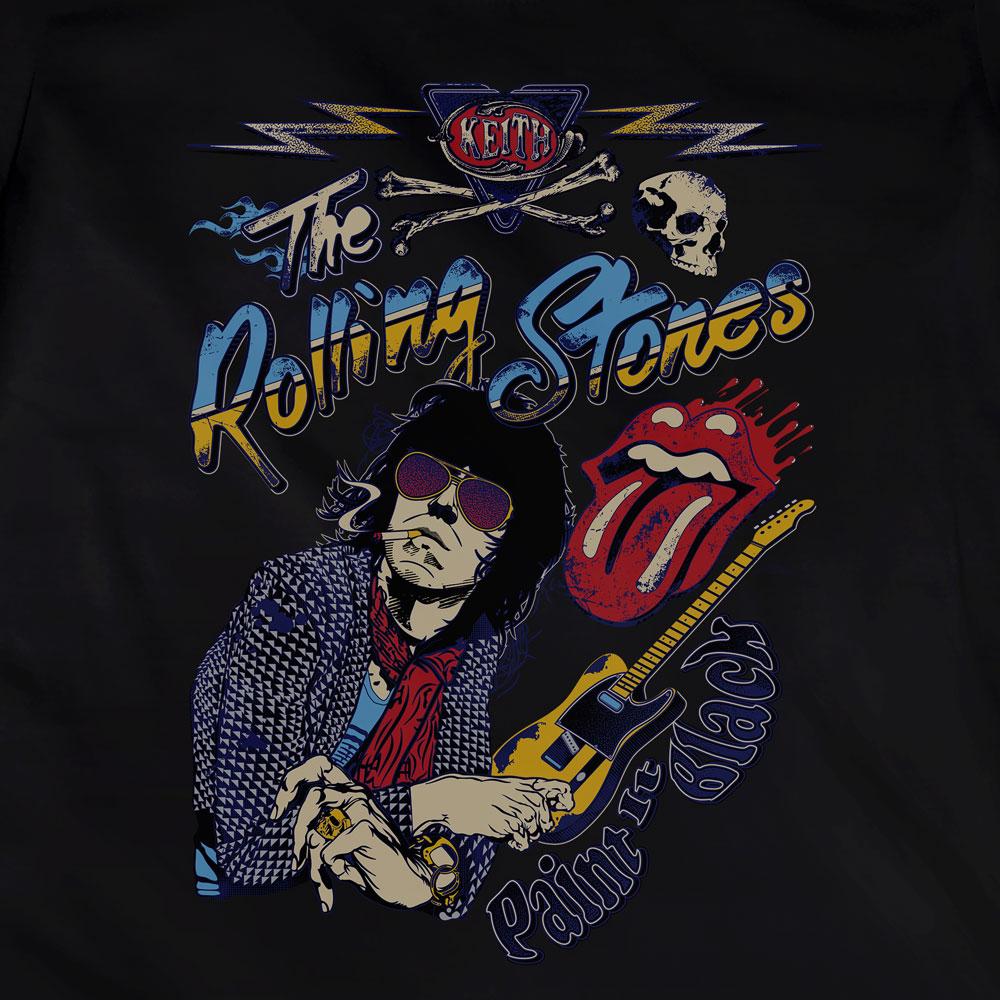 Camiseta Paint It Black - The Rolling Stones - Feminino