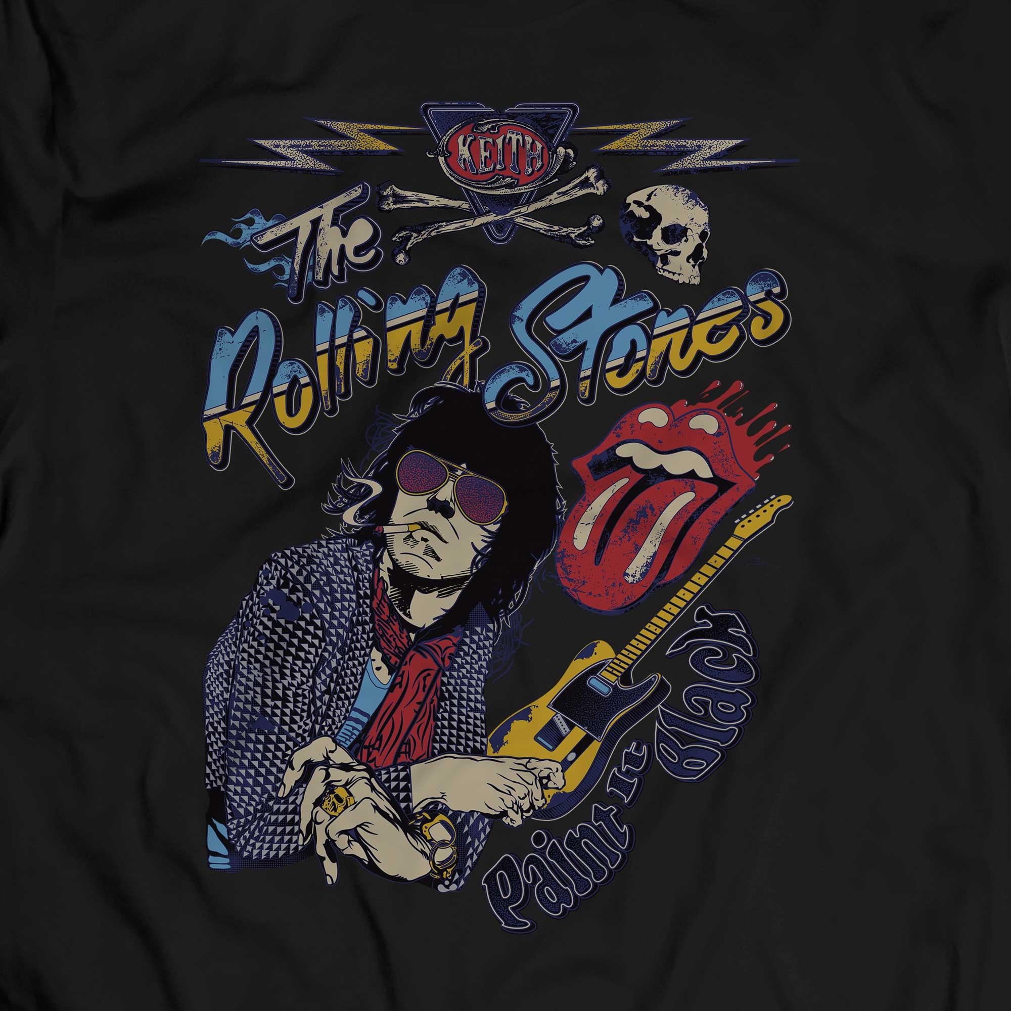 Camiseta Paint it Black - The Rolling Stones - Masculino