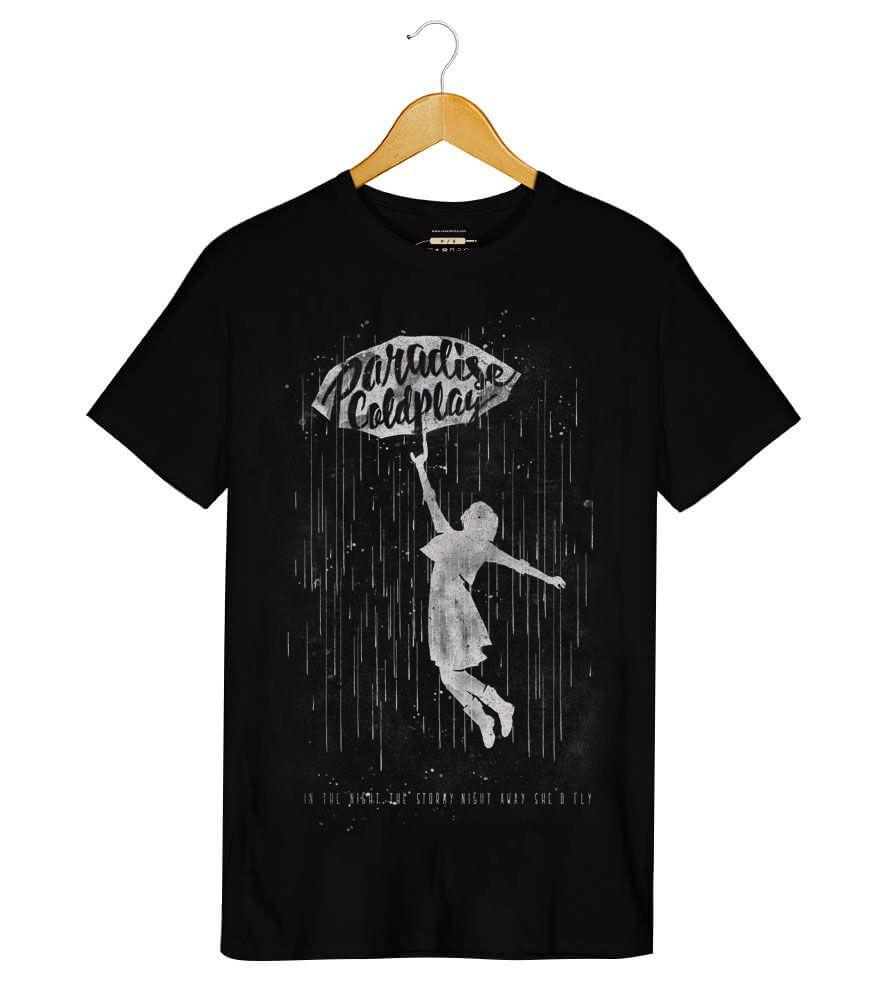 Camiseta - Paradise - Coldplay - Masculino