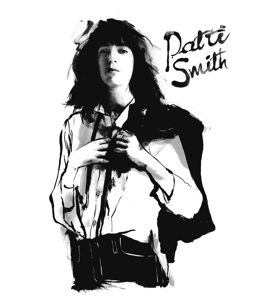 Camiseta - Patti Smith - Horses - Feminino