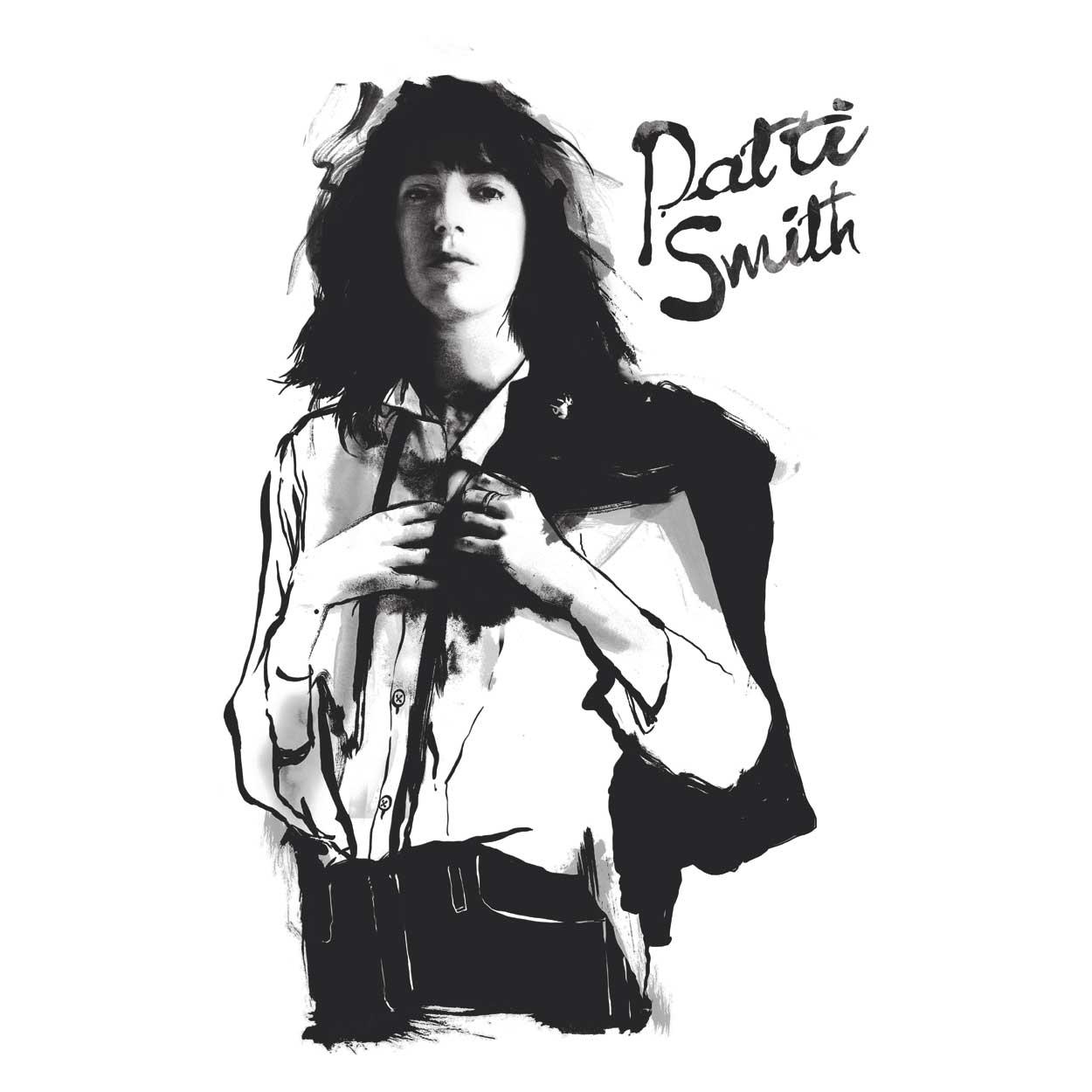 Camiseta - Patti Smith - Horses - Masculino