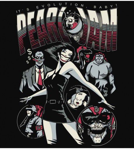 Camiseta - Pearl Jam - Feminino