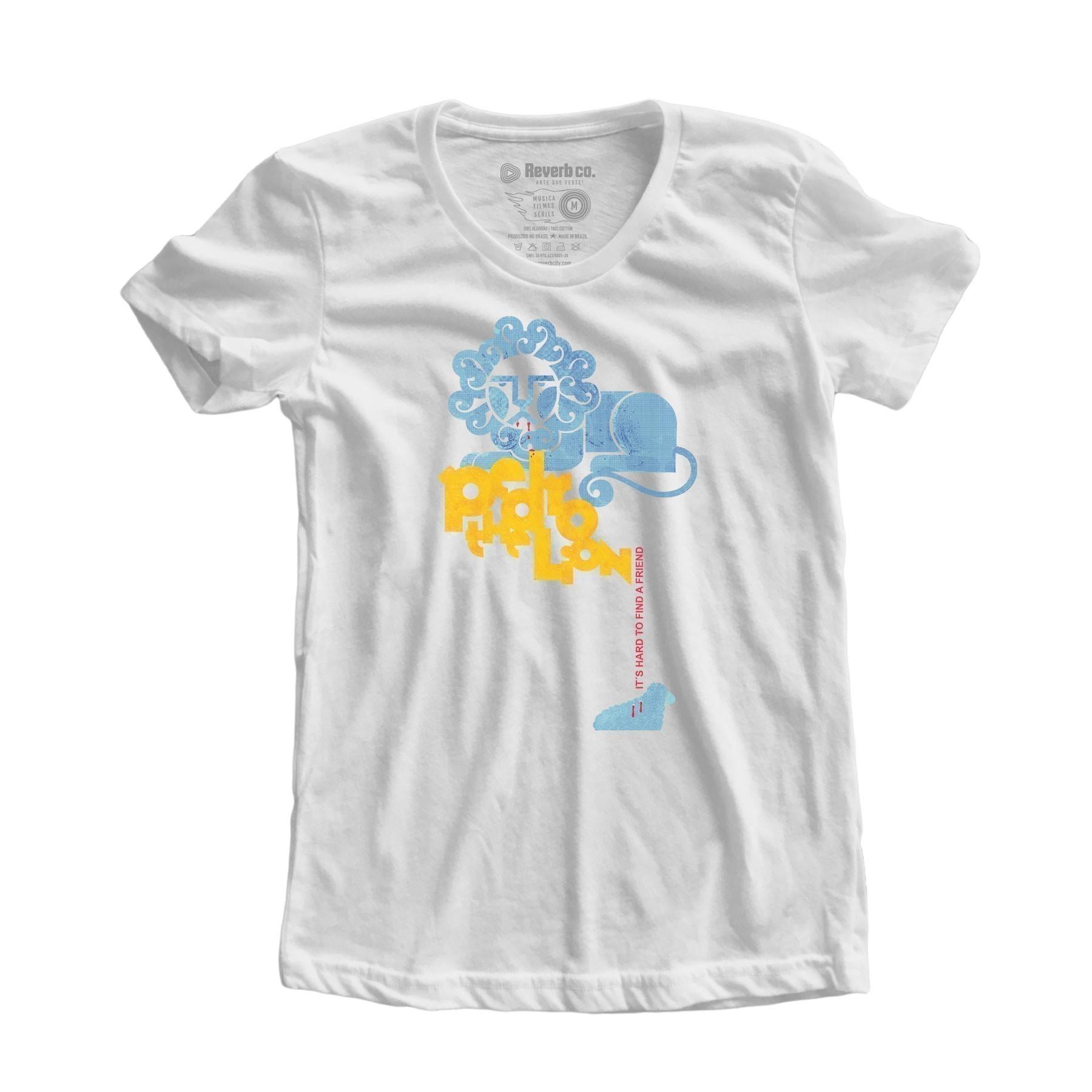 Camiseta Pedro The Lion - Feminino