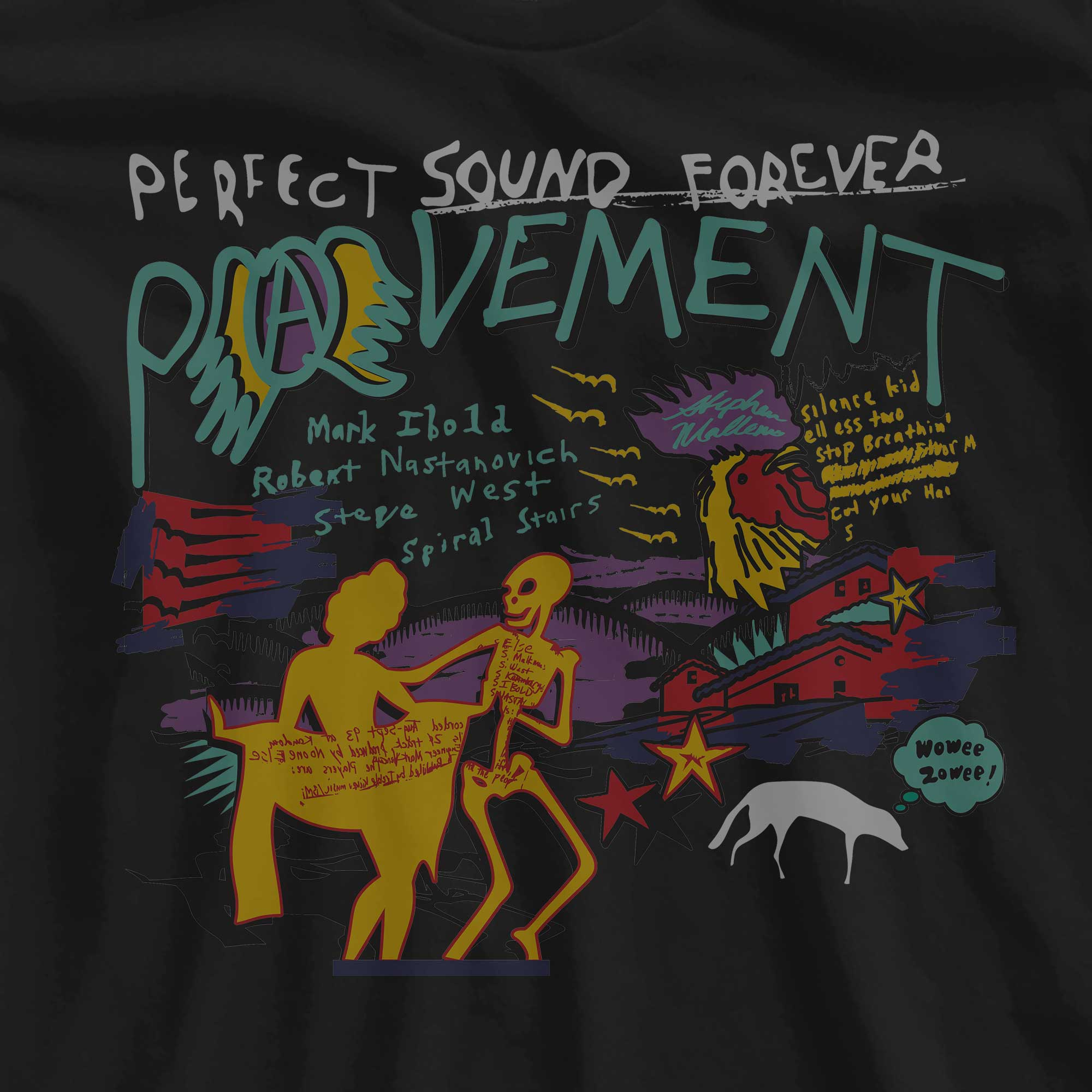 Camiseta Perfect Sound Forever - Pavement - Feminino