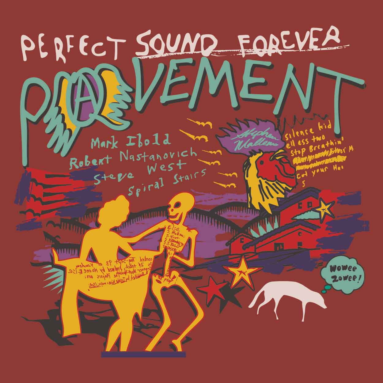 Camiseta Perfect Sound Forever - Pavement - Masculino