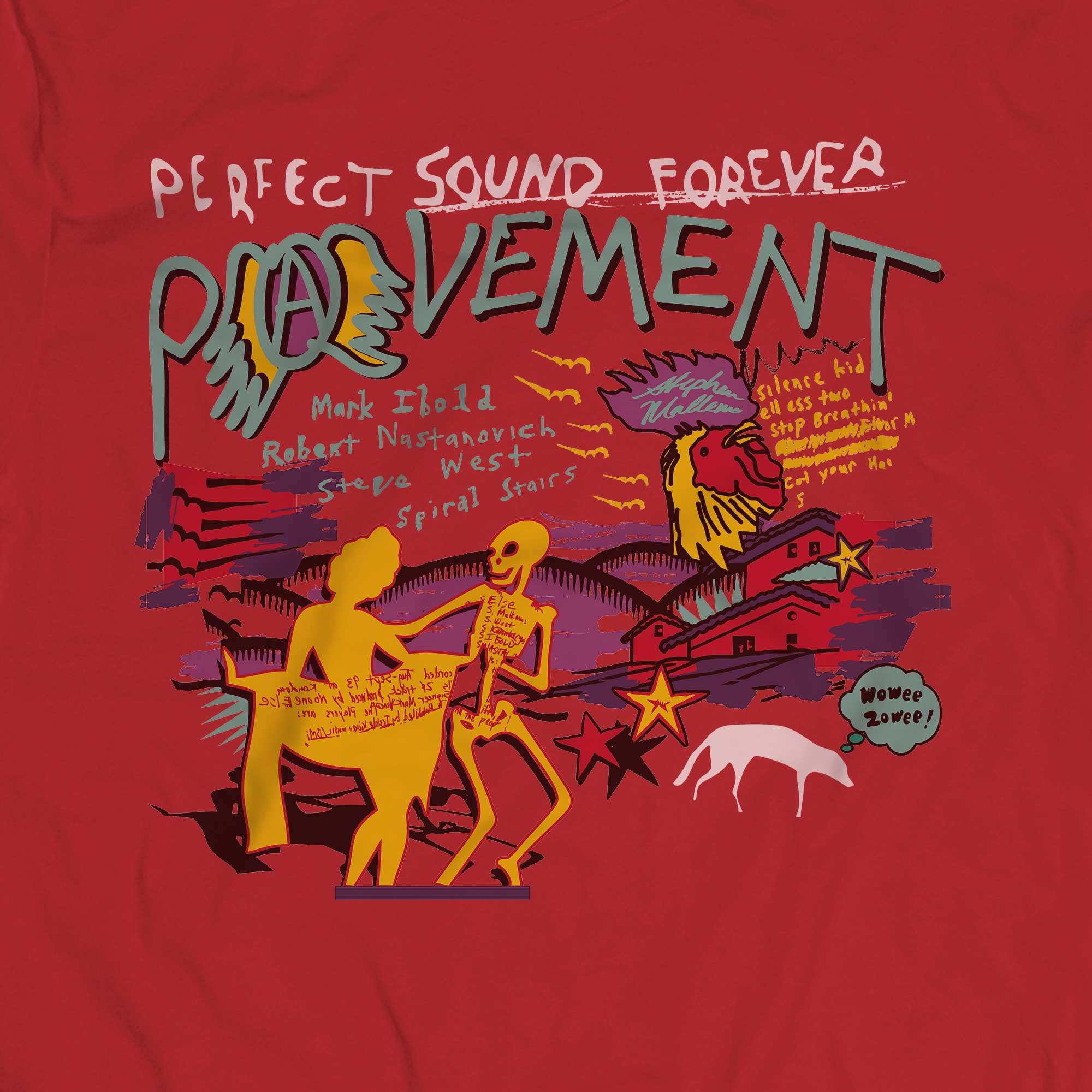 Camiseta Perfect Sound Forever - Pavement - Masculino