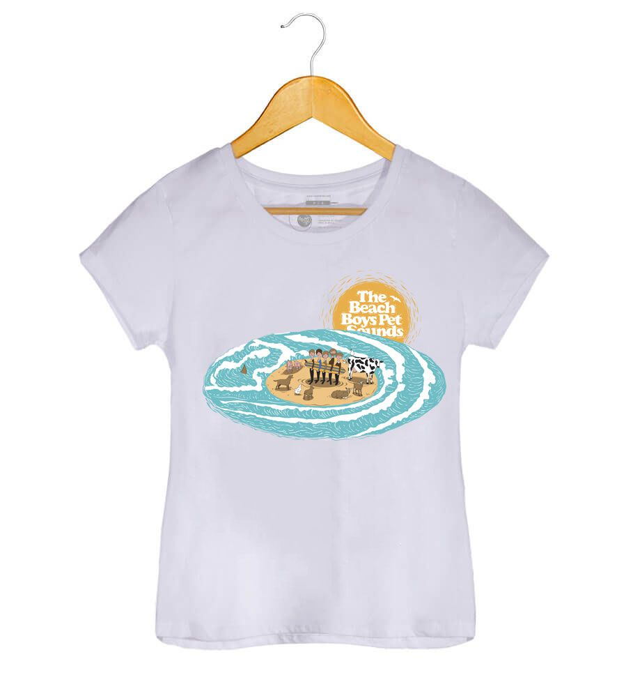 Camiseta - Pet Sounds - The Beach Boys - Feminino