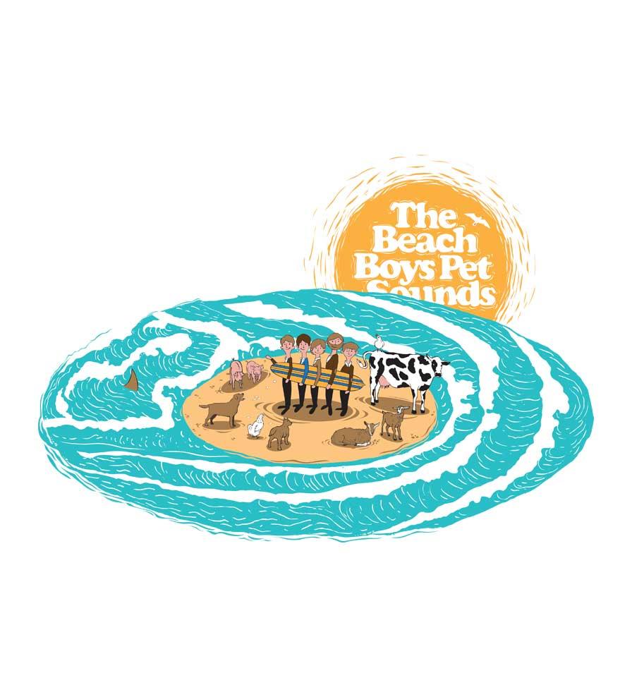 Camiseta - Pet Sounds - The Beach Boys - Feminino