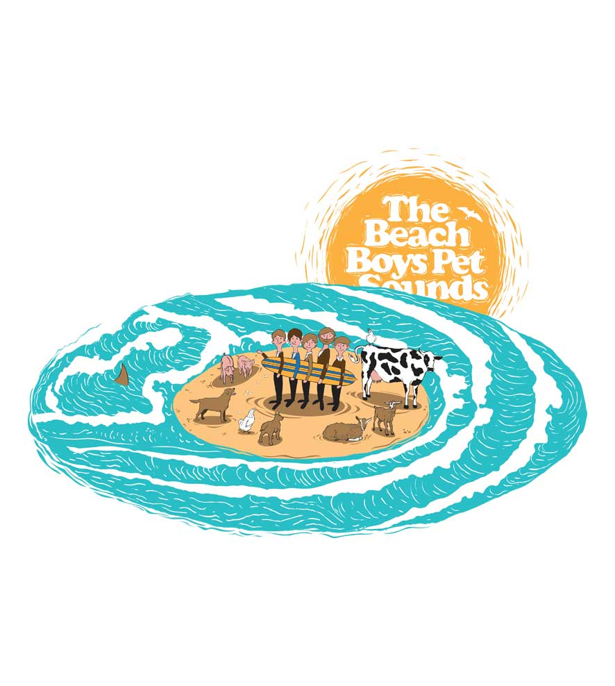 Camiseta Pet Sounds - The Beach Boys - Infantil